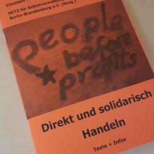Broschüre »Direkt und solidarisch Handeln«